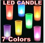 led sound activated candle